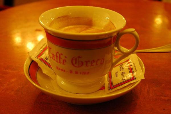 martin crockett [roma's famous caffe greco]