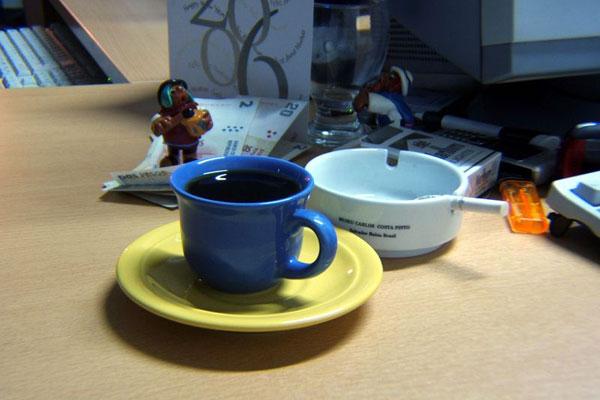 slaff [no caffe - no work]