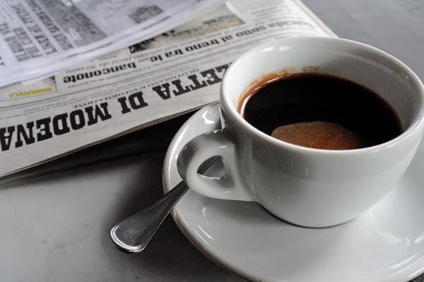 sterile [al caffe']