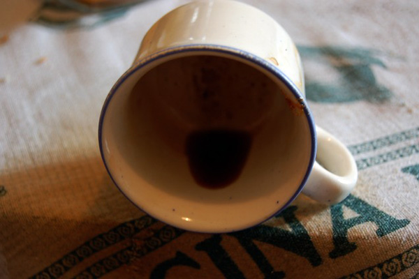 salpe [fondo di caffe]