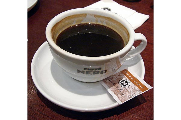 japanese forms [caffe nero]