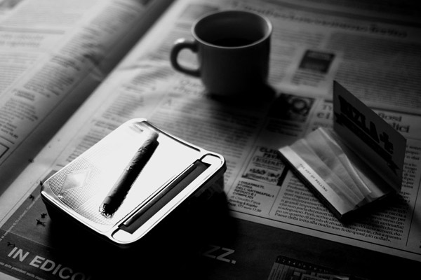 redart [ Newspaper, Coffee and Cigarettes* ]