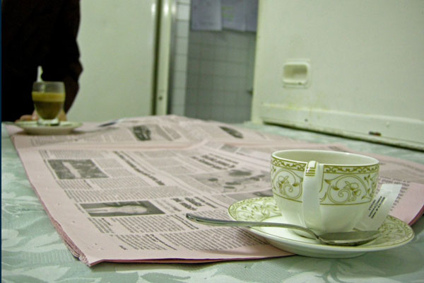 massimo [ caffe e giornale ]