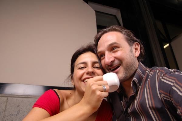 Ilaria e Fausto - Autoscatto [ @ Fotoleggendo 2009 ]