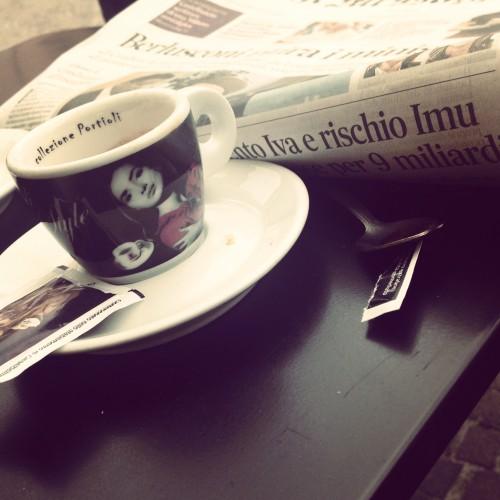 Caffè dolce, notizie amare