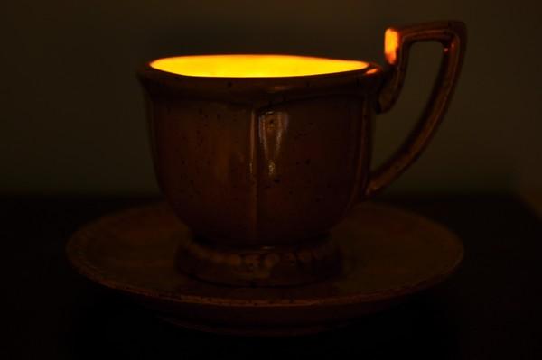 un caffe di luce per te