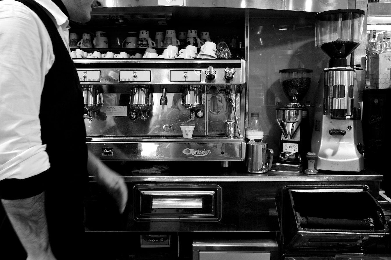 Le braccia del caffè
