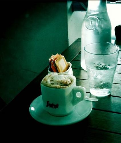 A well deserved caffe