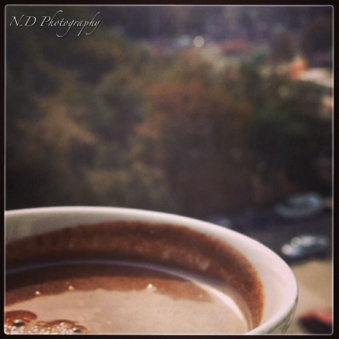 Coffee From my window