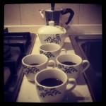 Caffè per quattro.