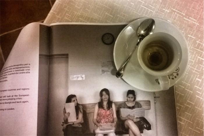 Caffè a Cortona #3 Le tre attese