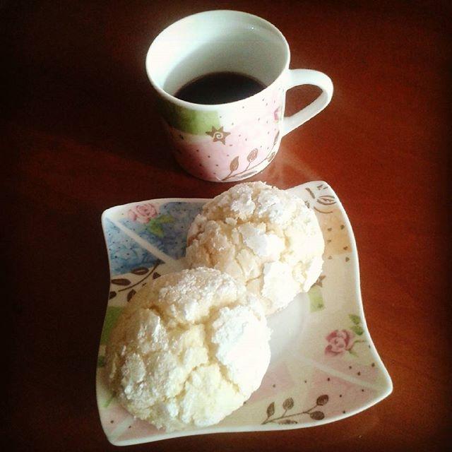 ph @marilenacapr 'Na tazzulella 'e cafè ... e dolcetti al limone fatti da me