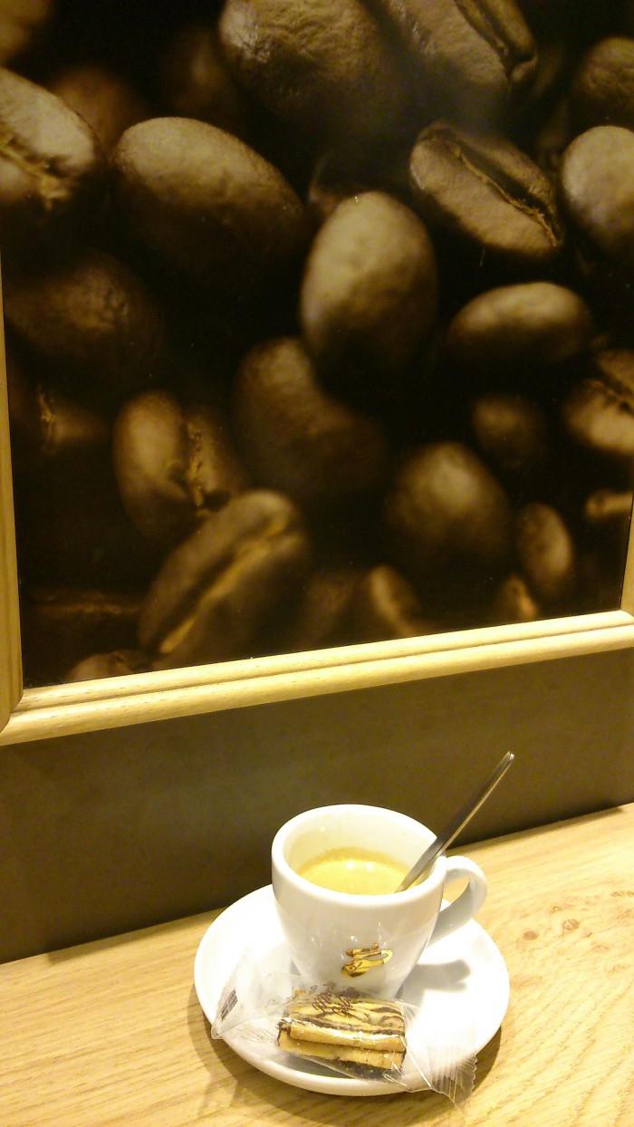 Aspetto italiano per un caffe tedesco