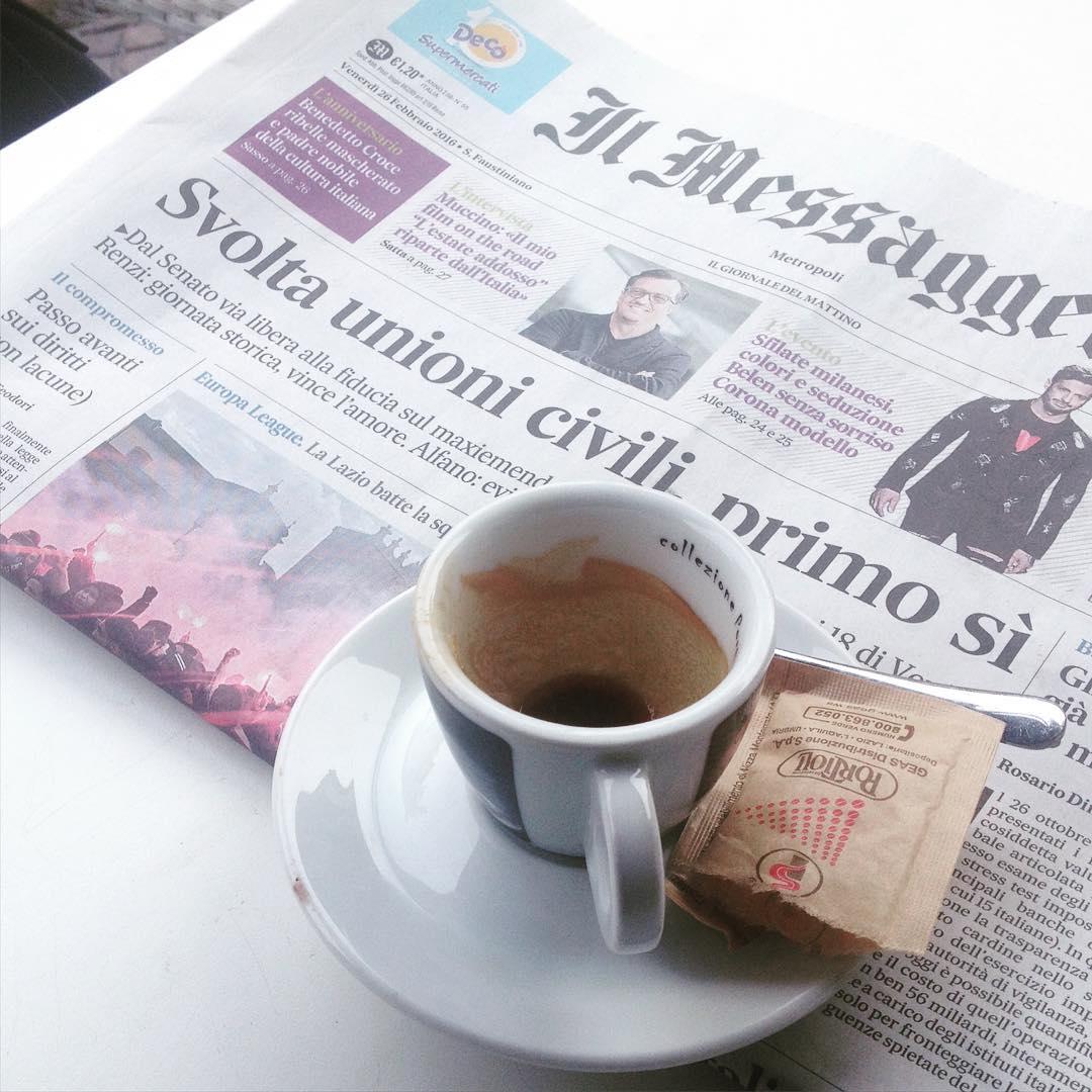 Un dolce caffè amaro, @bastet
