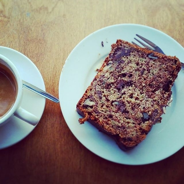 . @hypnoticaubergine The best choco/zucchini bread ever!
