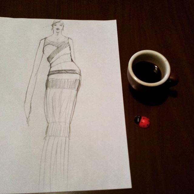 ☕ @ds_alxo#coffebreak#drawing