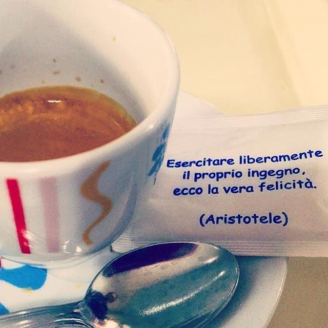 Esercitare liberamente il proprio ingegno, ecco la vera felicità (Aristotele), @catepol