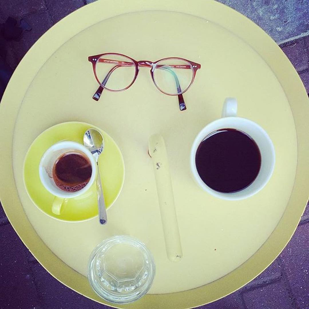 Filter coffee & espresso from Stockholm in a hot Berliner morning. ph @hypnoticaubergine