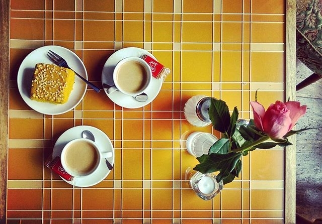 ph @ilberlinese Coffee and Syrian cake in Berlin