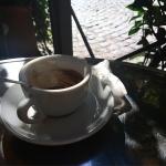 Caffè e sampietrini (Rione Monti)