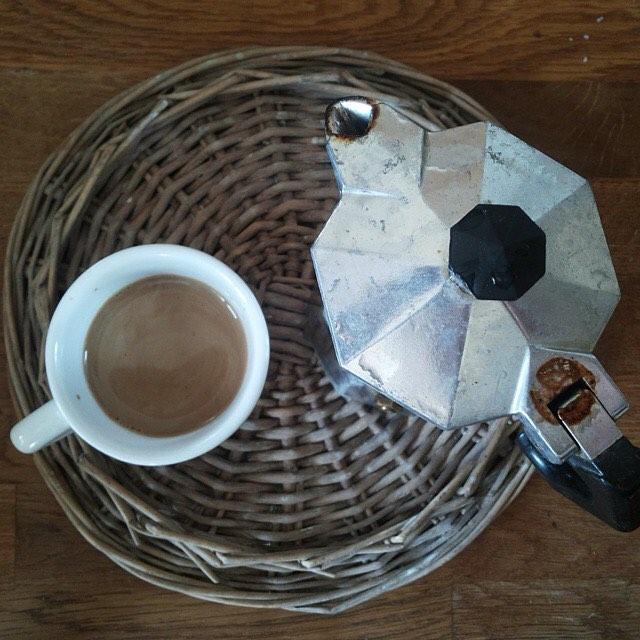 Pausa caffè, d'orzo però, che la giornata è stata abbastanza agitata di suo! | ph @gloriarossi