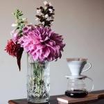 Dahlia and Coffee