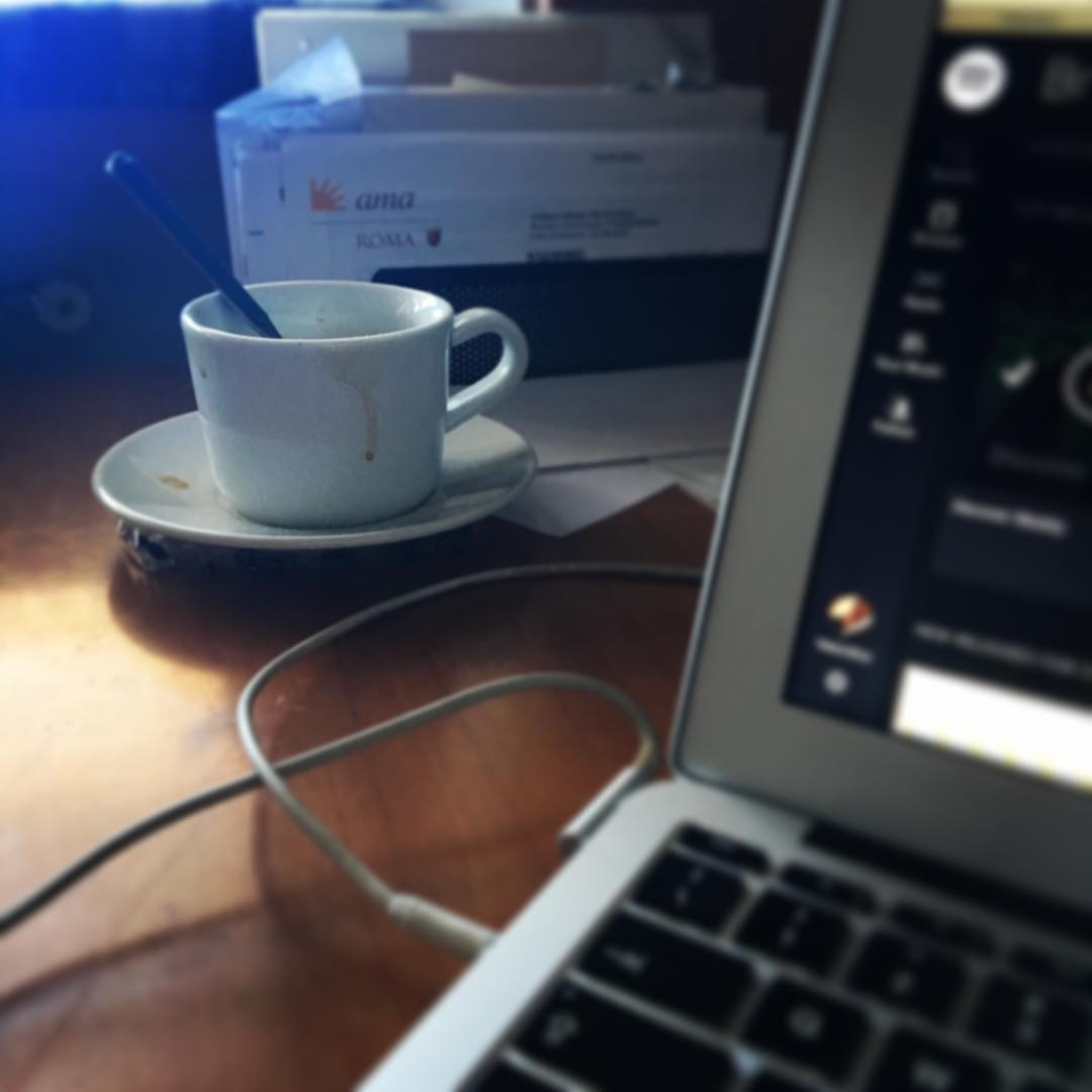 Taxes, coffee and Spotify | ph @bastet