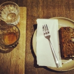 Espresso Bonanza and Carrot cake