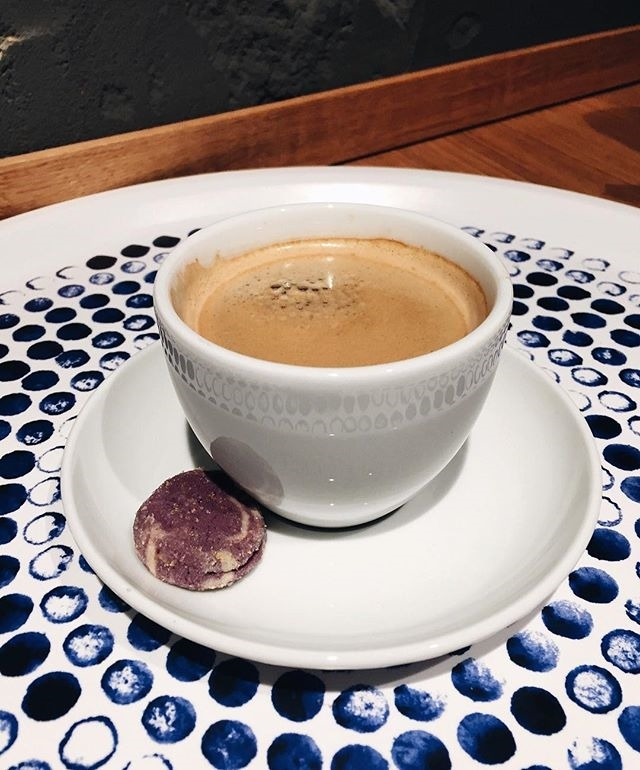 Coffee break. ☕️🍪 | ph @palmtreepixie