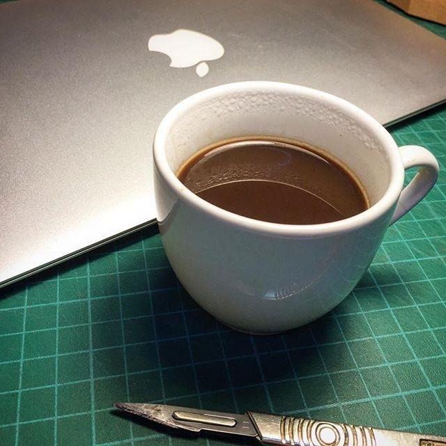 Mela espresso al taglio (l'intervallo del guerriero) | ph @ercats1