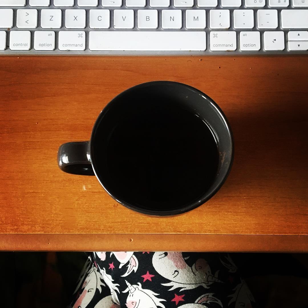 How does it feel the morning after (di caffè, tastiere, pensieri e unicorni 🦄