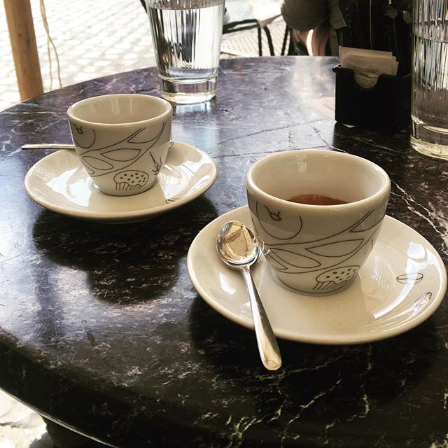 Coffee in Rome w/ @ilberlinese | ph @bastet