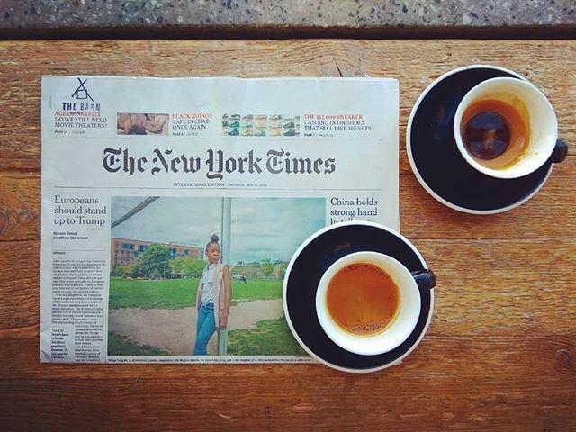 New York Times | ph @ilberlinese Repost/Regram @hypnoticaubergine