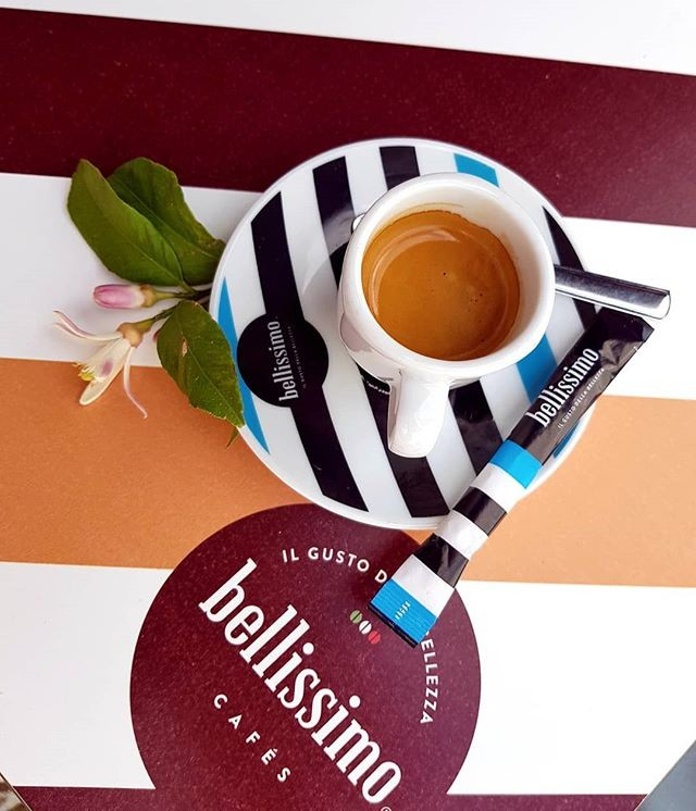 """A coffee not only """"bellissimo"""" but also """"buonissimo"""" at @oconventual! ph @carla_marchioro"""