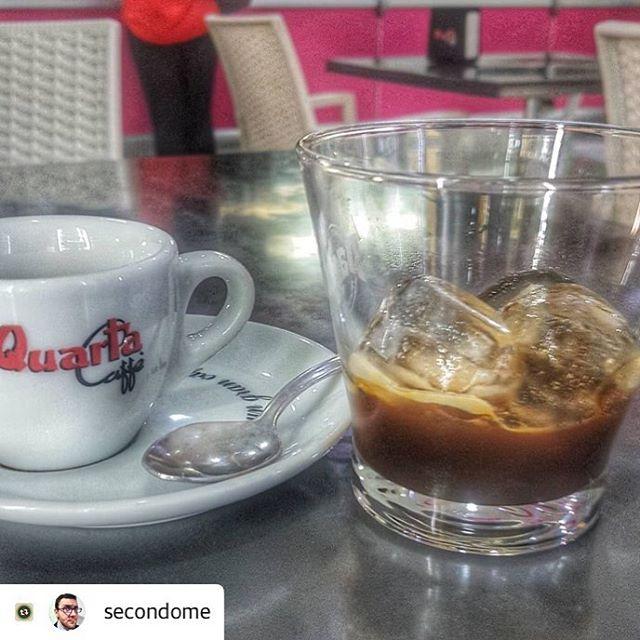 Caffè in ghiaccio FTW! | ph @secondome