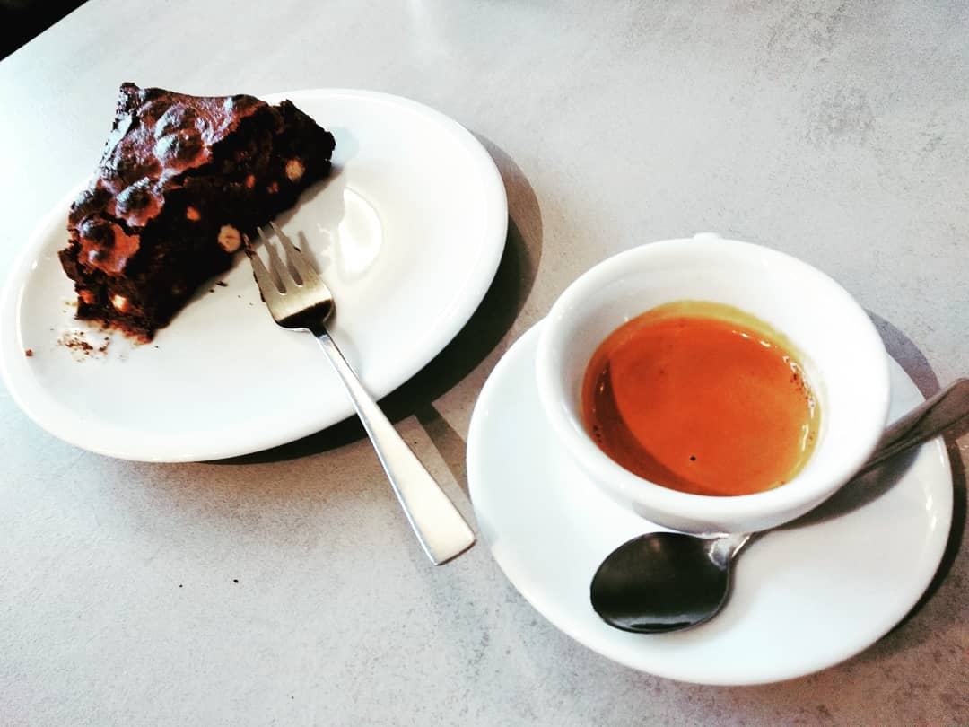 coffee coffeinberlin coffeetime cafeexpresso cafexperiment brownie