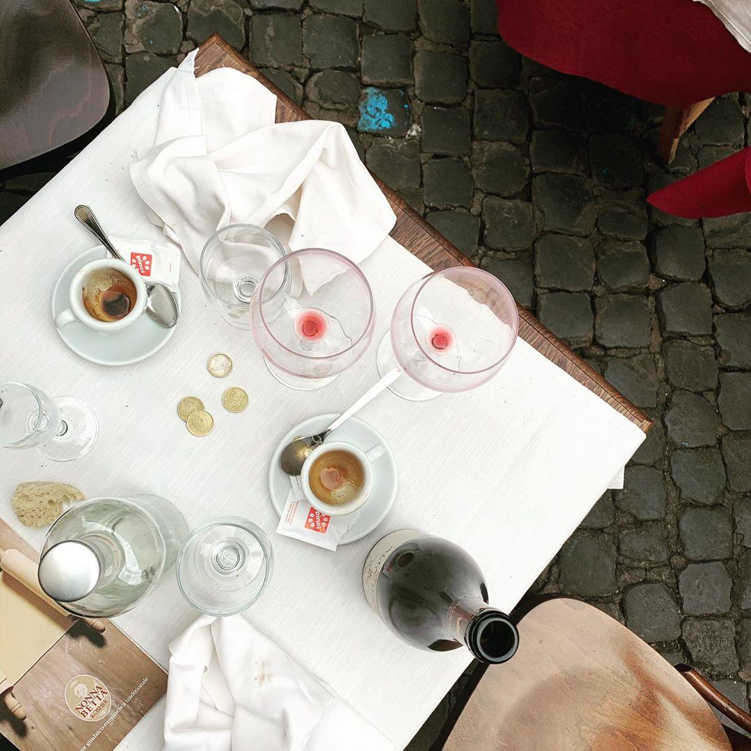 Gennaio a Roma, pranzare all'aperto da Nonna Betta